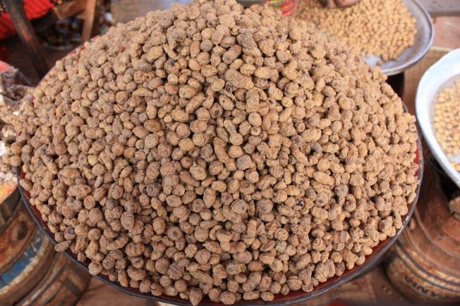 Chufa on sale in Burkina Faso. I didn't get this many.