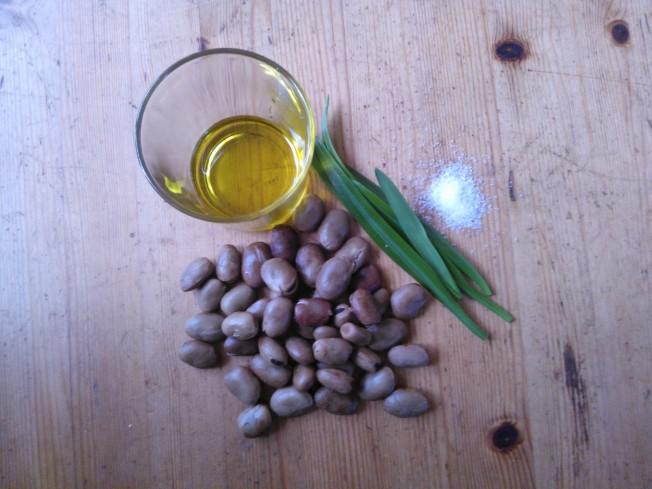 green hummus ingredients